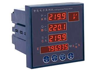 multifunction digital panel power meter